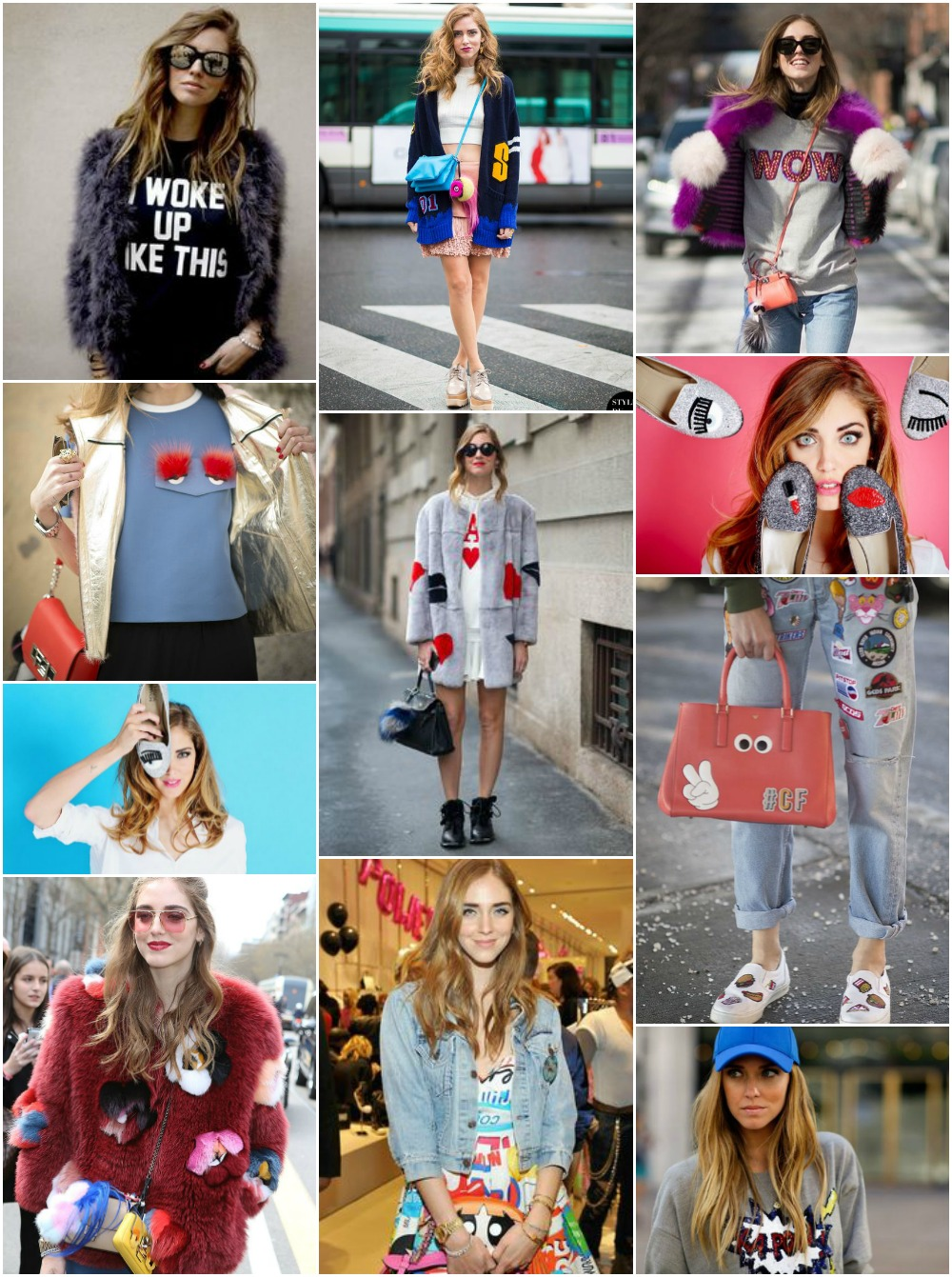 Chiara Ferragni Quirky outfits