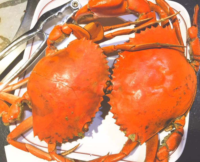 Big crabs at Tong Yang Shabu-Shabu and Barbecue