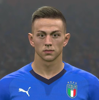 PES 2017 Faces Federico Bernardeschi by Ben Hussam FaceMaker
