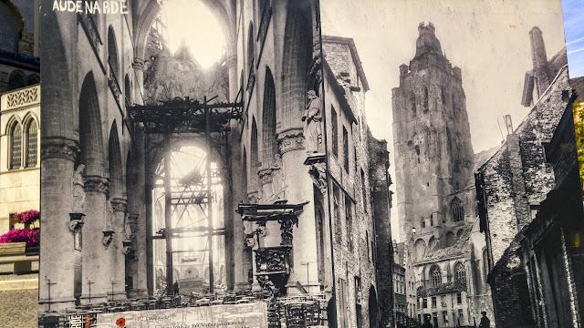 Destrucción de Oudenaarde, I Guerra Mundial por El Guisante Verde Project