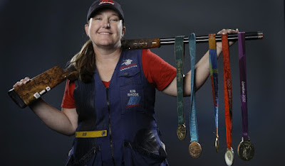 Six time Olympic Medalist Kim Rhode