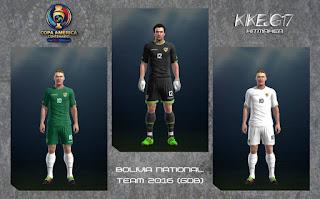 Kit Seleccion Bolivia (Copa America Centenario 2016) Pes 2013