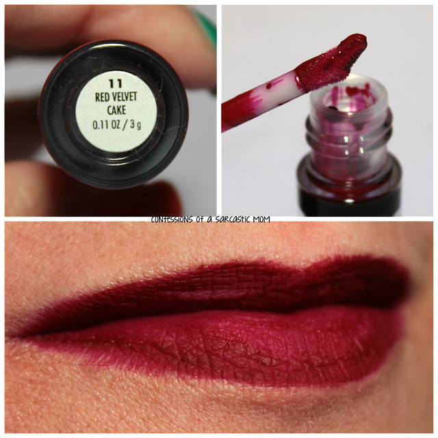 Jordana Sweet Cream Matte Liquid Lip Color in Red Velvet Cake