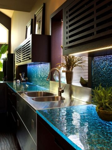 Glass Countertops – They look classy