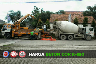 Harga Beton Cor K-500
