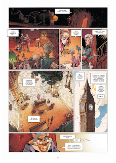 "Reseña de ""EKHÖ Mundo Espejo vol.7 · Swinging London"" de Christophe Arleston y Alessandro Barbucci - Norma Editorial"