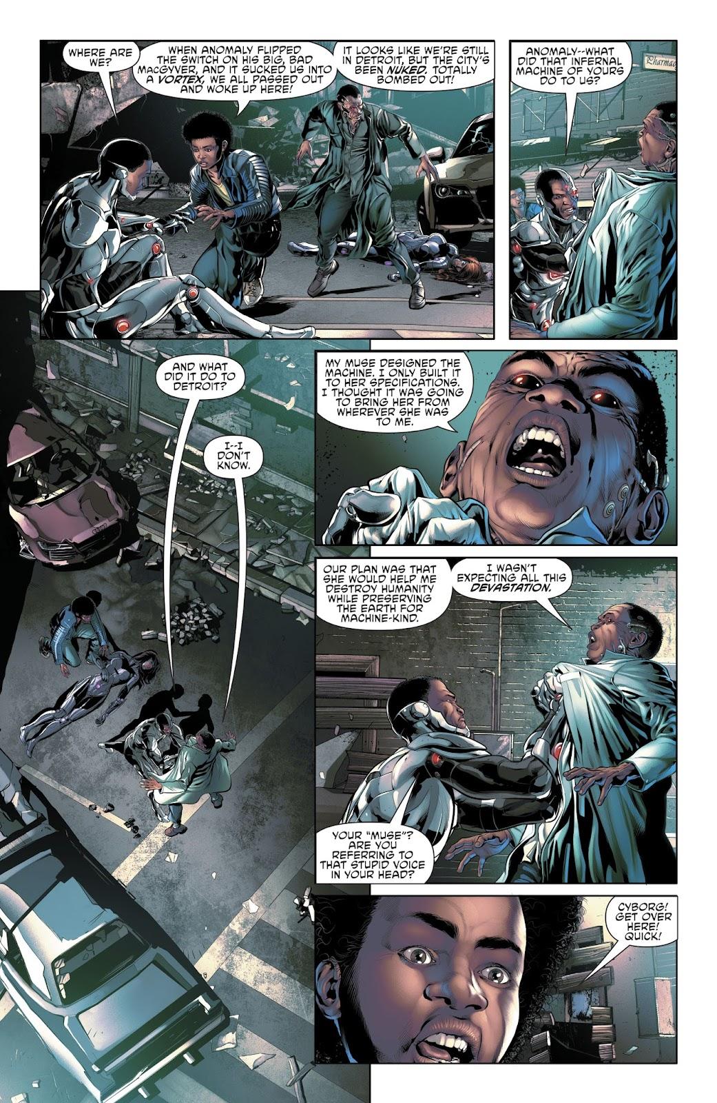 Read online Cyborg (2016) comic -  Issue #14 - 10