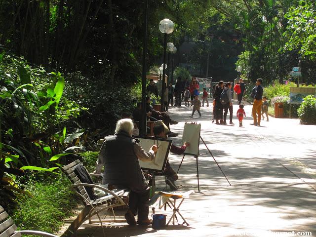 Коулун, Гонконг - Парк Коулун