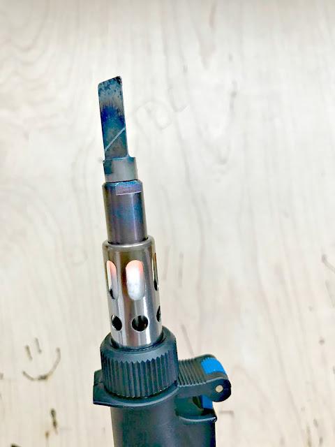 Dremel VersaTip for wood burning crafts