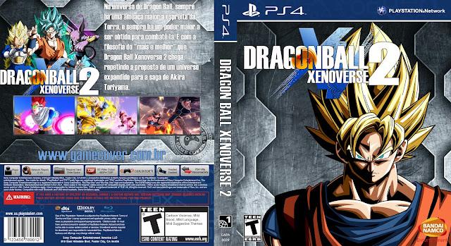 Capa Dragon Ball Xenoverse 2 PS4 [Exclusiva]