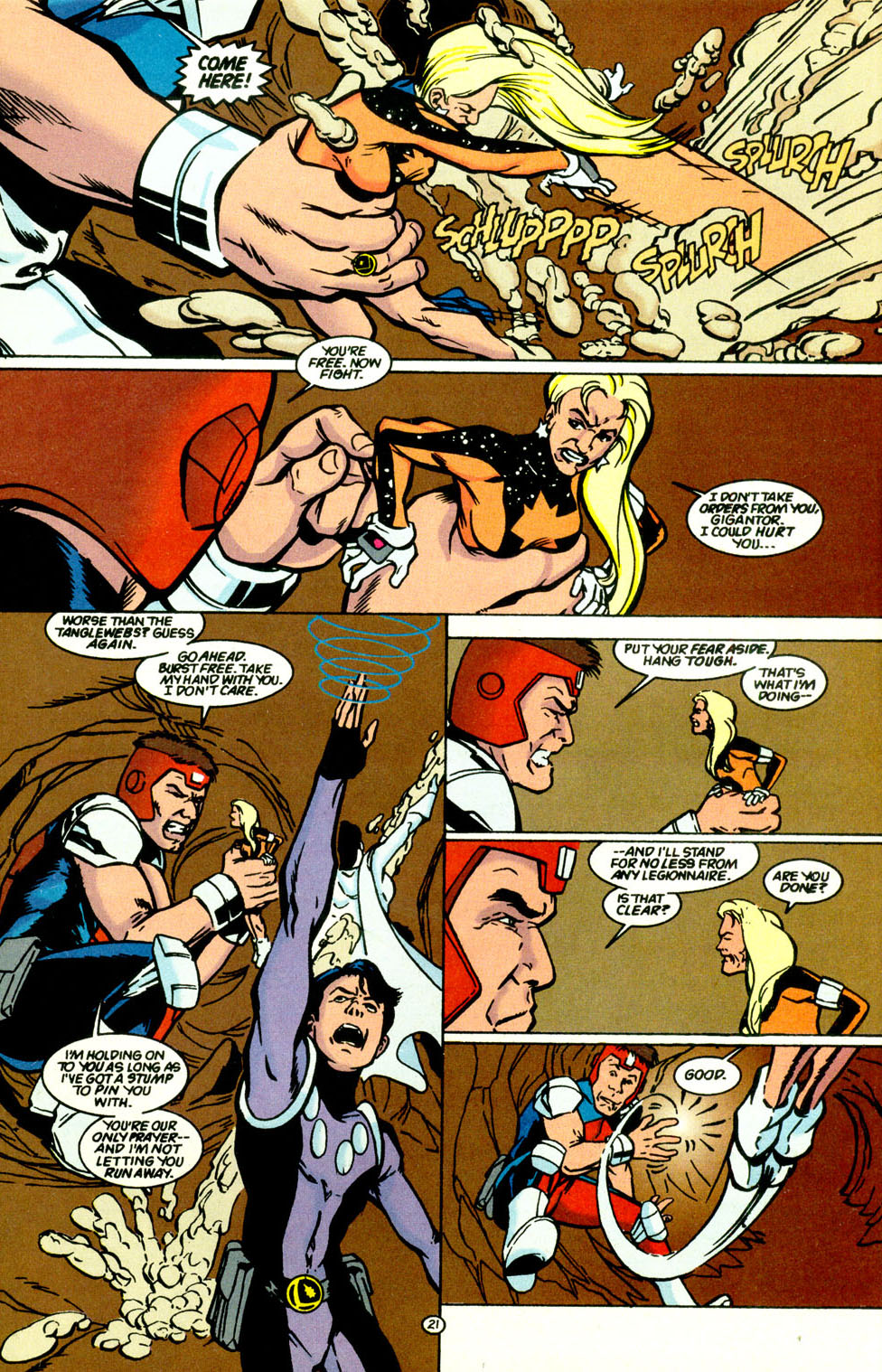 Legion of Super-Heroes (1989) 68 Page 22