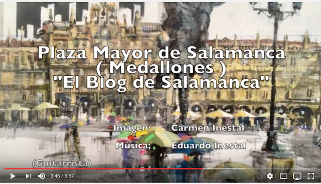 MEDALLONES PLAZA MAYOR SALAMANCA