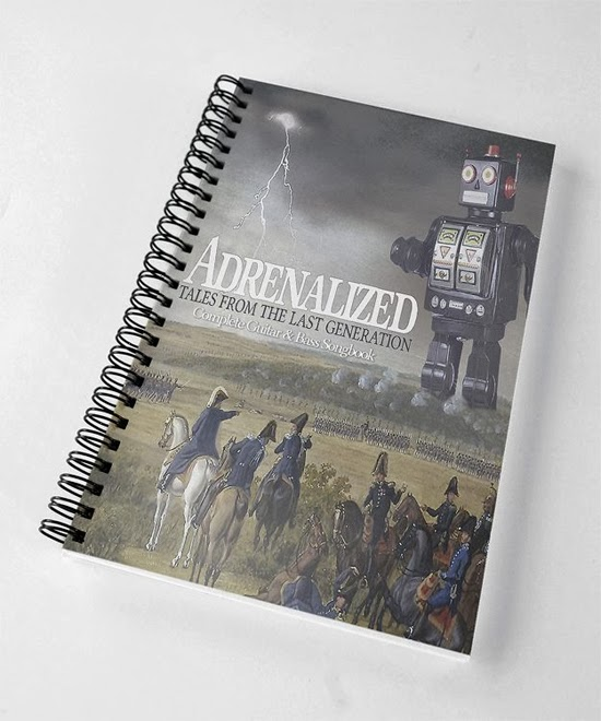 <center>Adrenalized to release guitar & bass tab book for 'Tales From The Last Generation'</center>