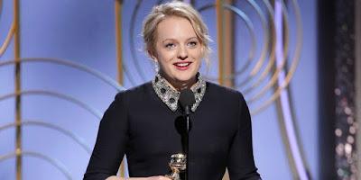 Golden Globes 2018 Elisabeth Moss