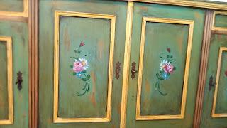 mobila pictata Rasnov Claudiu Bixa