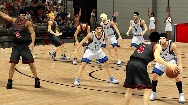 Kaijo Too Academy Kuroko Basket NBA 2k14 MOD