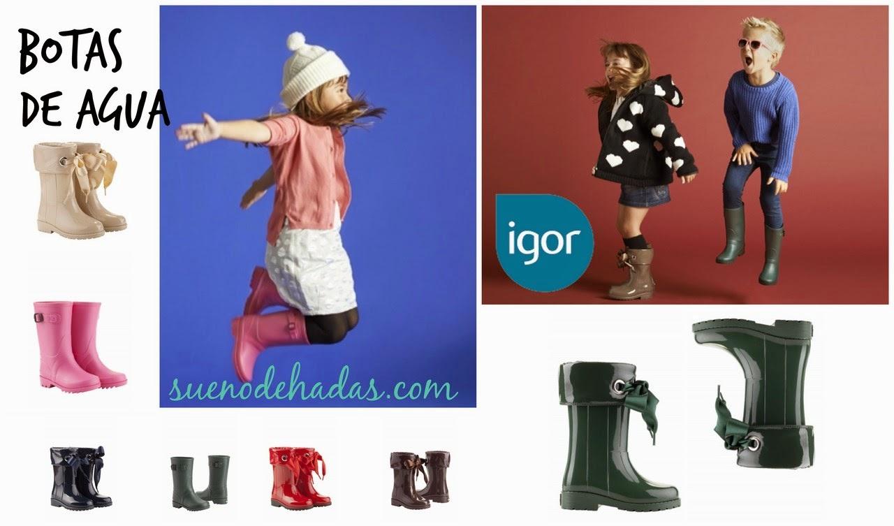 Botas de agua - Básicos de invierno moda infantil
