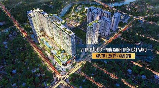 Mở bán căn hộ Topaz Elite quận 8, chủ đầu tư Vạn Thái Land.