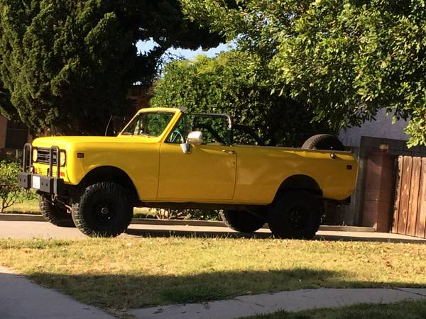 1977 International Scout II Traveler Edition