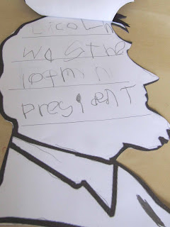 President's Day Kindergarten Activity