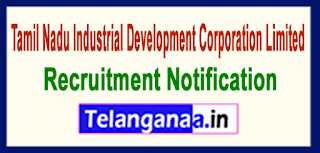 TIDCO Tamil Nadu Industrial Development Corporation Limited Recruitment Notification 2017 Last Date 29-05-2017