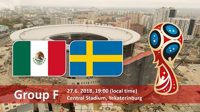 مباراة المكسيك والسويد اليوم والقنوات الناقلة بي أن ماكس HD1