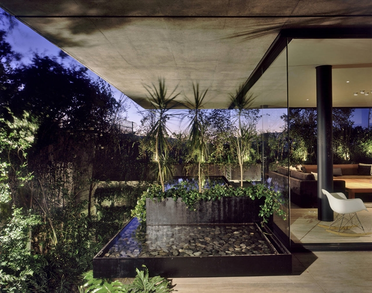 Vegetation around House La Punta by Central de Arquitectura