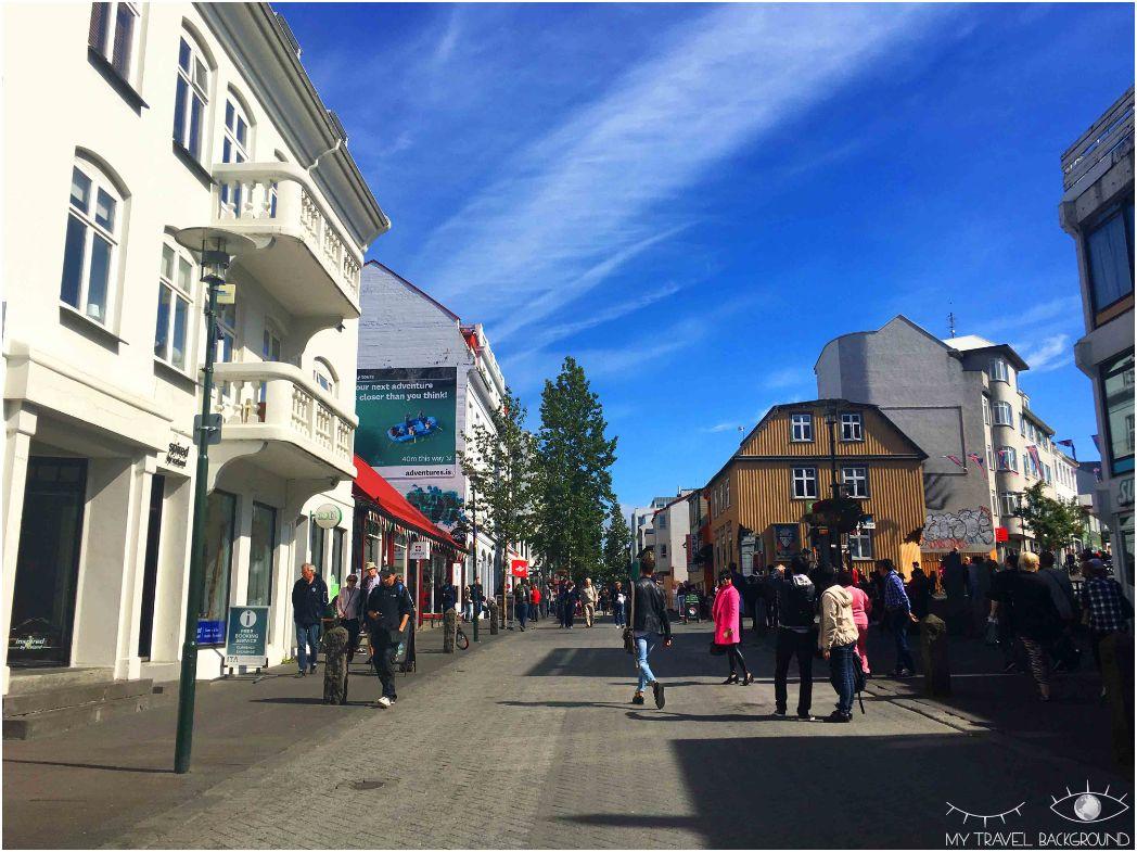 My Travel Background : que voir à Reykjavik? Visiter la ville en 1 jour, les essentiels - Rue Skolavordustigur