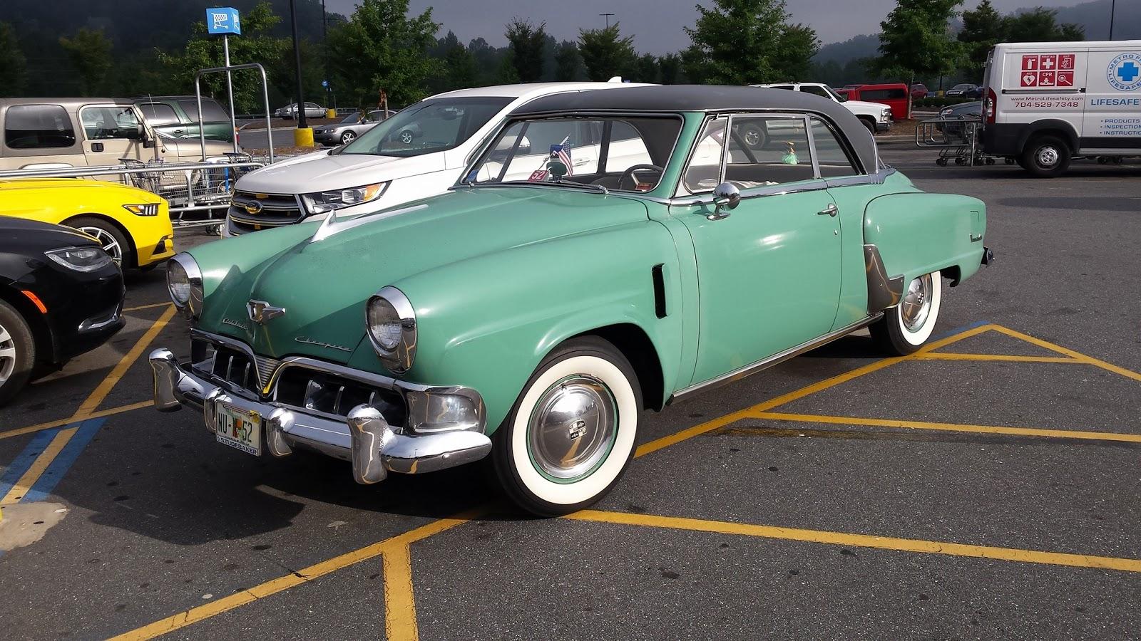 A 1952 Studebaker Champion