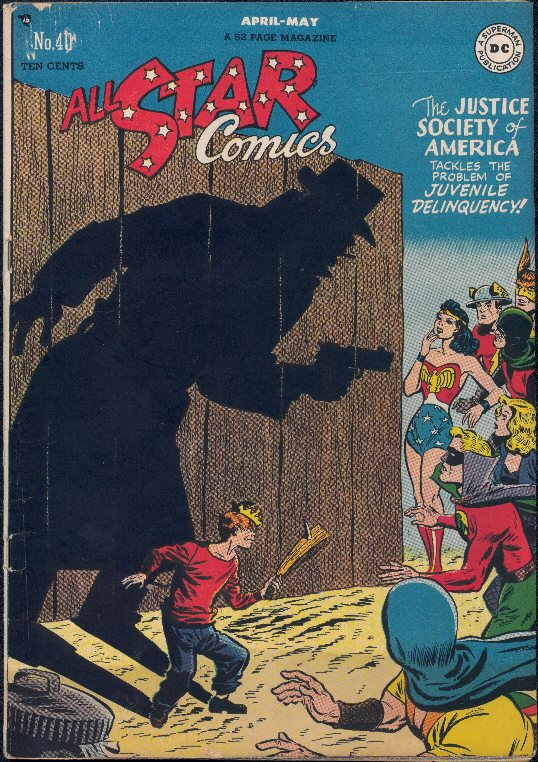 All-Star Comics (1940) issue 40 - Page 1