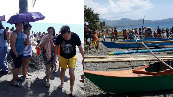 1 dead as speedboat capsized in Antique; mayor, 2 actresses, 6 others survived