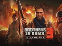 Brothers in Arms 3 MOD APK v1.4.5f VIP Infinite Money Proper for Android Update Terbaru 2017