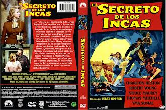 Carátula: El secreto de los incas (1954) (The Secret of the Incas)