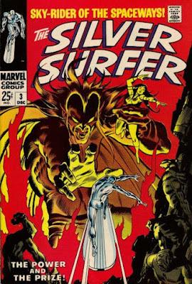 Silver Surfer #3, Mephisto