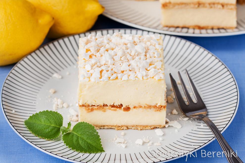 Ciasto cytrynowe z bezami