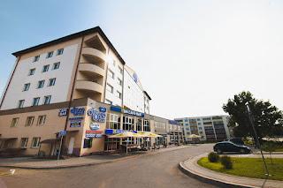 Вид Сбоку на отель Седата Игдеджи Sun Hotel