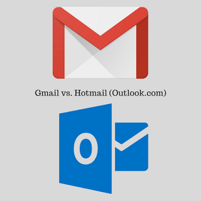 Gmail vs. Hotmail (Outlook.com)
