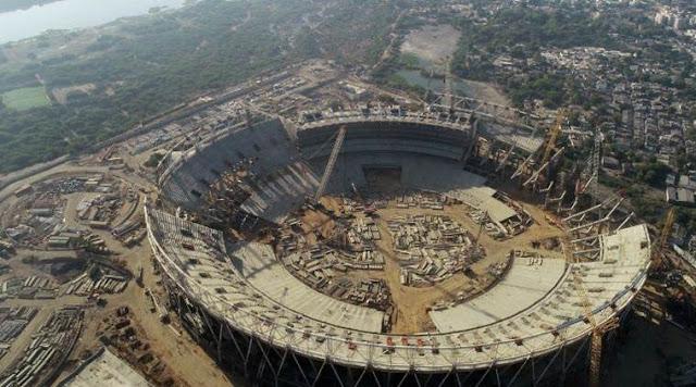 World biggest cricket stadium in India
