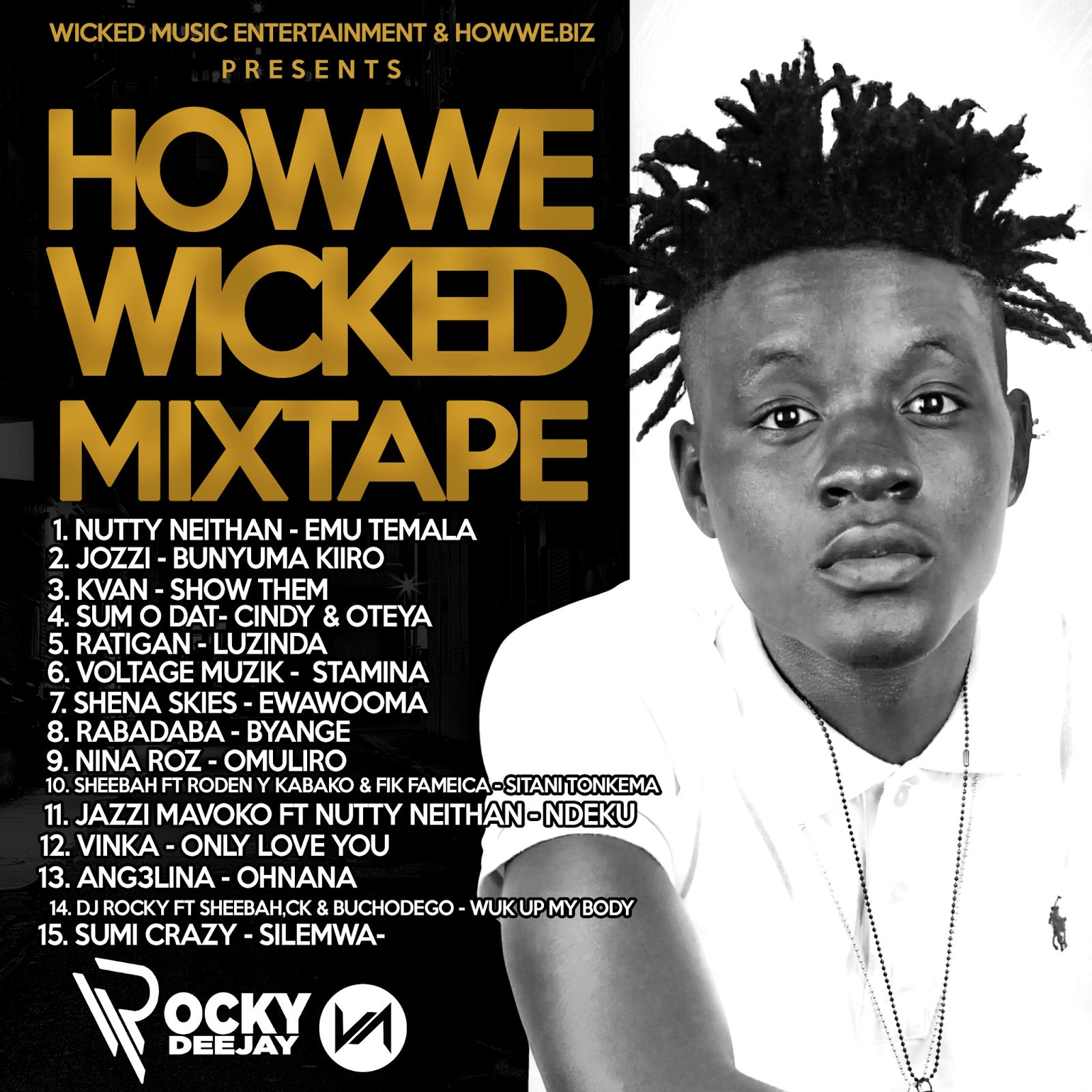 HOWWE WICKED MIX III - DJ ROCKY