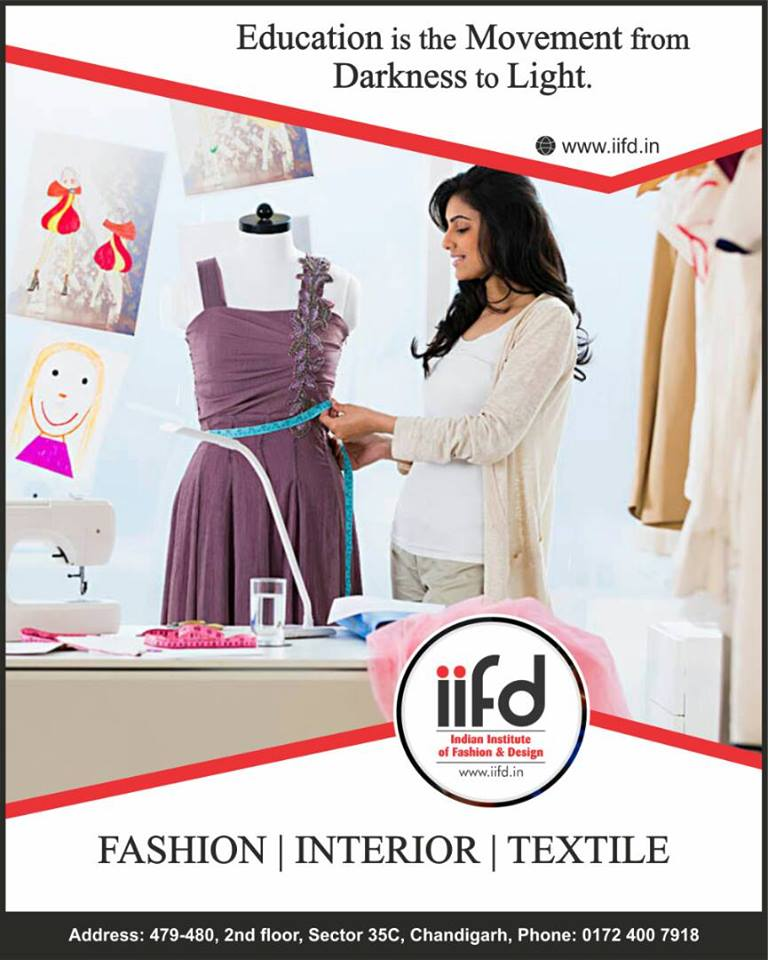 Iifd Best Fashion Designing Courses Institute In Chandigarh Punjab Proper Information About Fashion Design Drawing