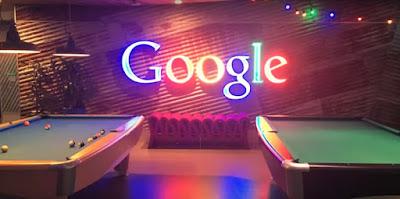 Meja Billiard Untuk Hiburan Karyawan Google