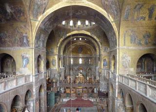 La Basílica de San Marco desde su Museo.