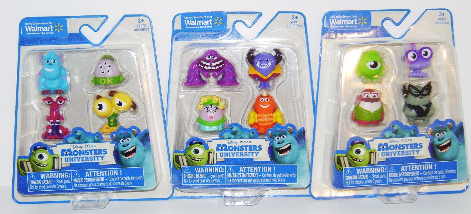 Dan The Pixar Fan Monsters University Walmart Exclusive Monster Minis