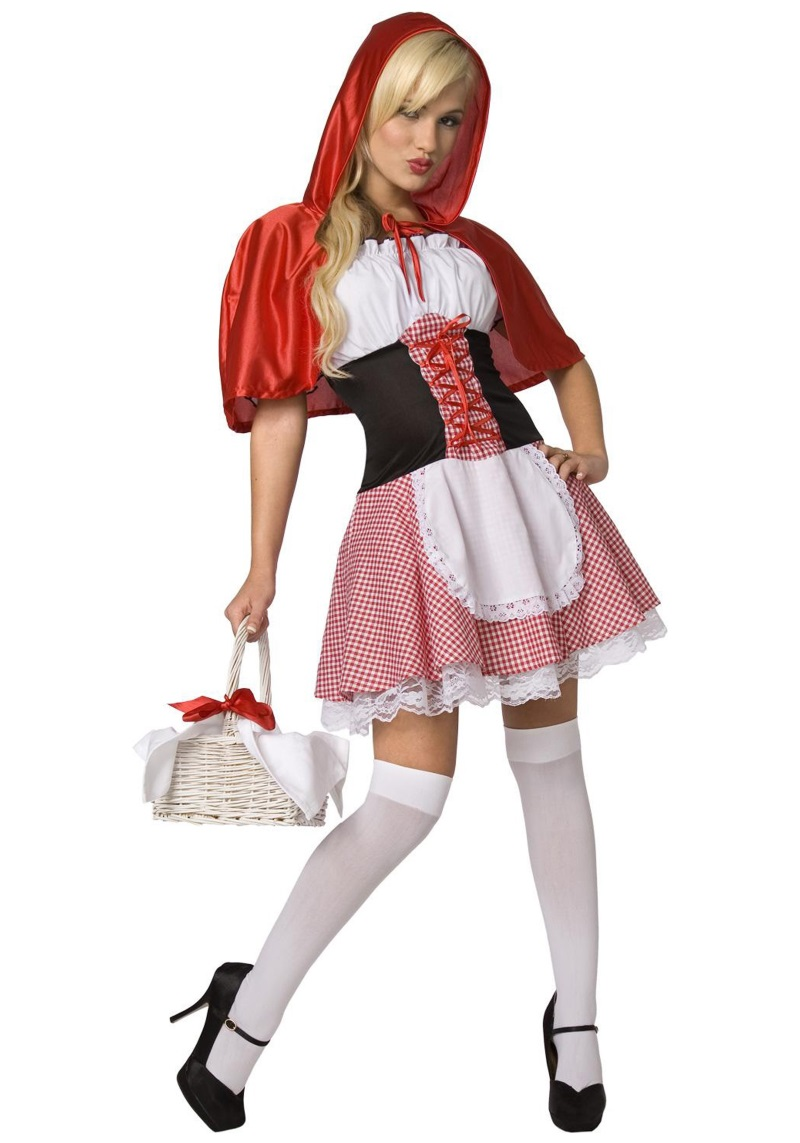 Tech-Media-Tainment Sexy Little Red Riding Hood, A Halloween Staple-7045