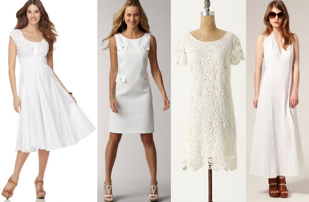 White Dresses for Spring... And Murder