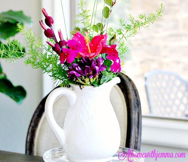 french, table, decorating, white, vase, inspiration