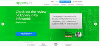 Website Untuk Membuat Aplikasi Tanpa Harus Koding 2