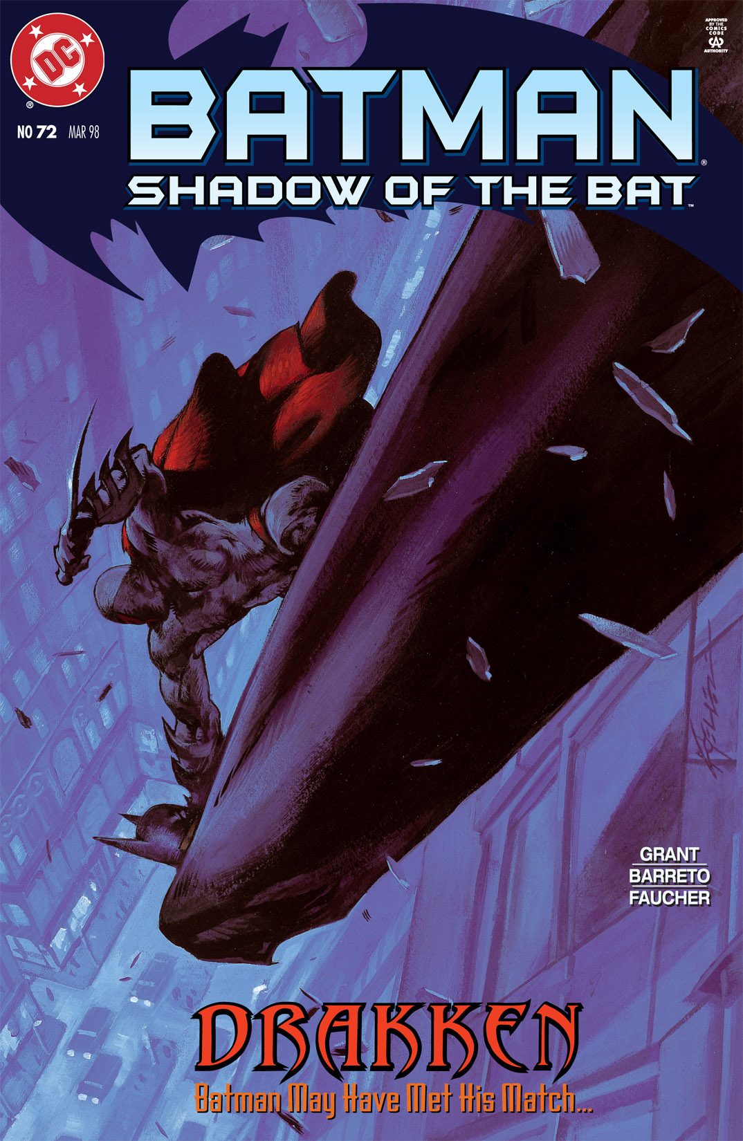 Batman: Shadow of the Bat 72 Page 1