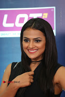 Actress Shraddha Srinath Stills in Black Short Dress at SIIMA Short Film Awards 2017 .COM 0078.JPG