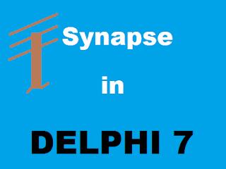 Cara Instal Komponen Synapse Di Delphi 7